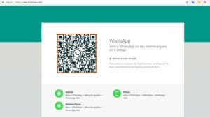 Como usar o Whatsapp Web no computador com navegador no Google Chrome