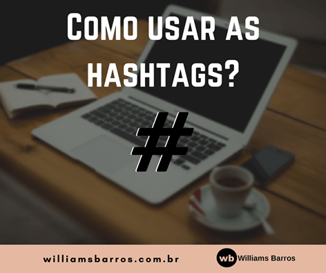 Como usar hashtags #